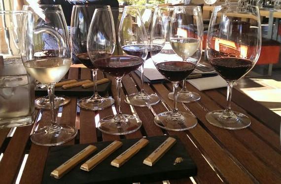 Schoko-Wein-Pairing